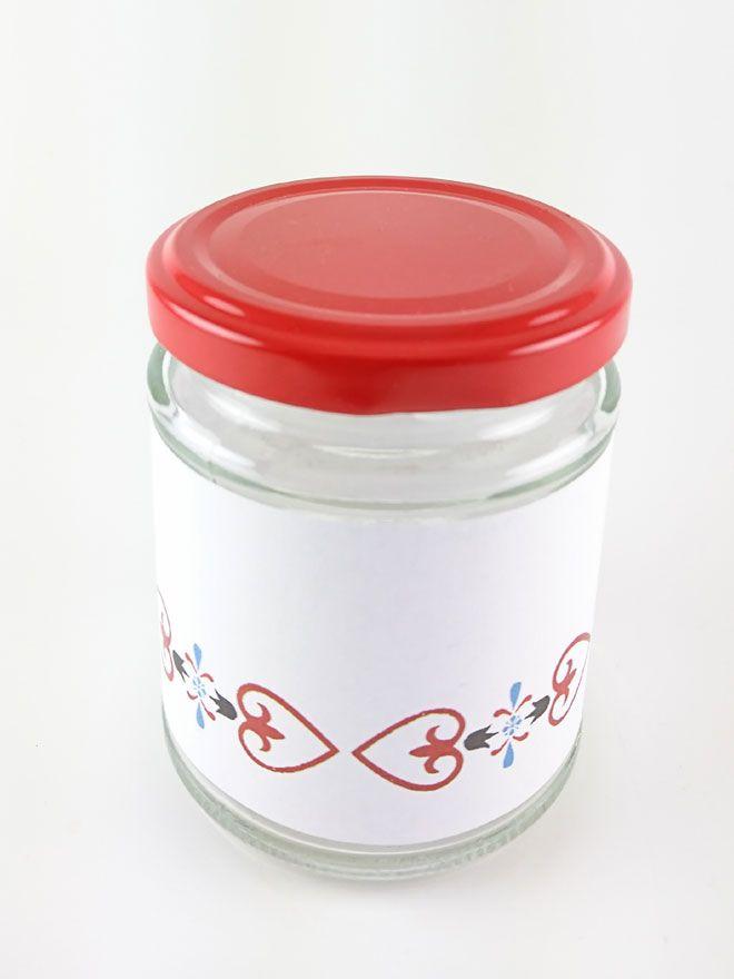 Jar Wraps - Nordic Lilja