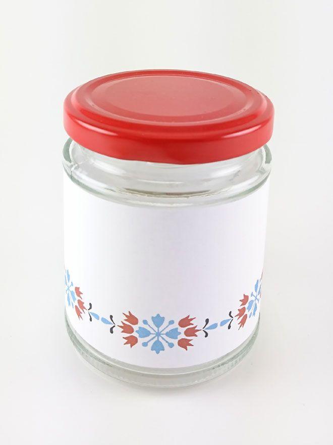 Jar Wraps - Nordic Narcissus