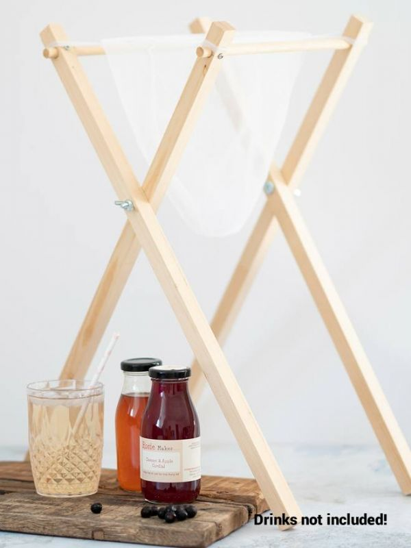 Jelly Bag Stand - Wooden 2