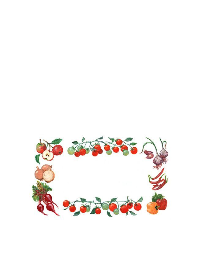 Classic Vegetable Labels 63x38mm DISC