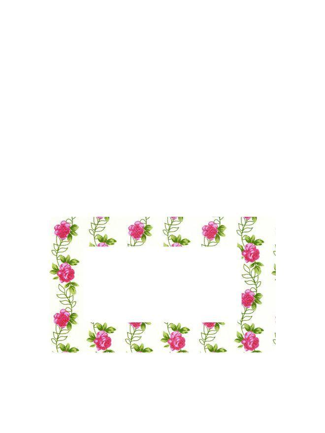 Summer Frocks Roses Labels 63x38mm DISC