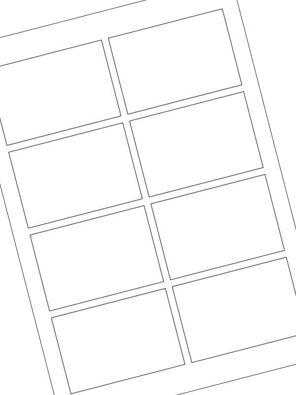 Labels Plain White 90x60mm (20xA4)