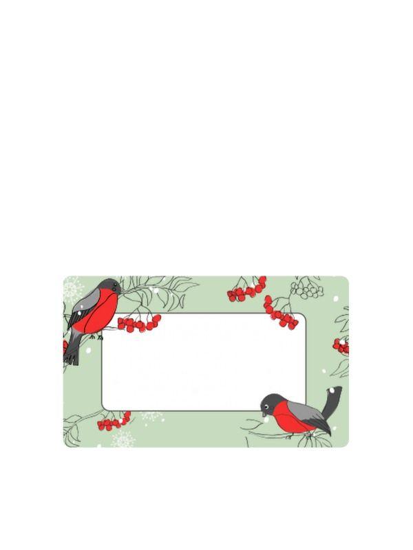 Rowan Bird Labels 63x38mm