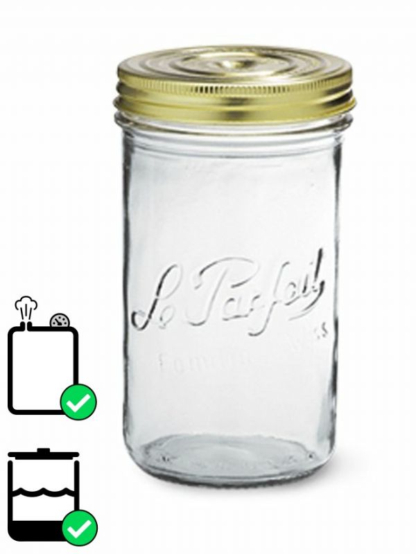 Le Parfait Terrine Screw Top Jar (x6) 1000ml