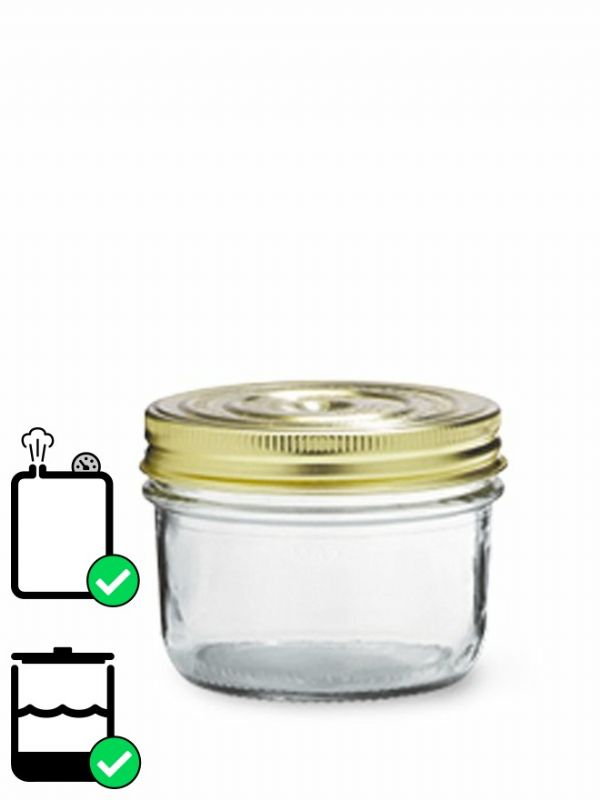 Le Parfait Terrine Screw Top Jar (x6) 350ml