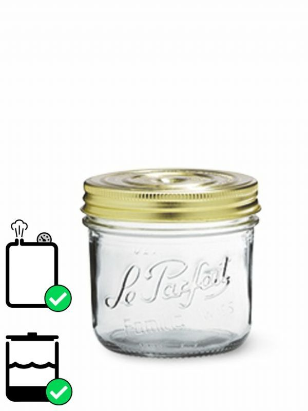 Le Parfait Terrine Screw Top Jar (x6) 500ml