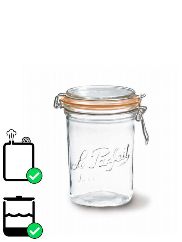 Le Parfait Terrine Clip Top Preserving Jar (x6) 1000ml