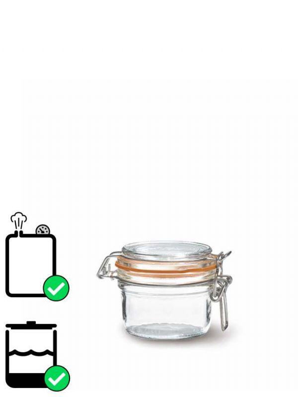 Le Parfait Terrine Clip Top Preserving Jar (x6) 125ml