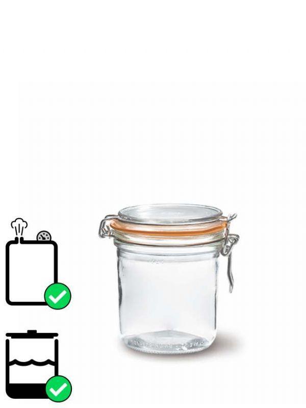 Le Parfait Terrine Clip Top Preserving Jar (x6) 275ml