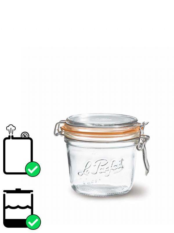 Le Parfait Terrine Clip Top Preserving Jar (x6) 500ml