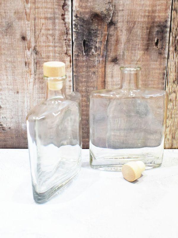 Zorro Glass Bottle 350ml with Cork 1