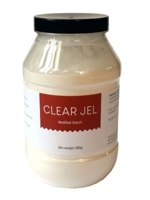 Love jam jars   Clear Jel - Modified Food Starch 500g