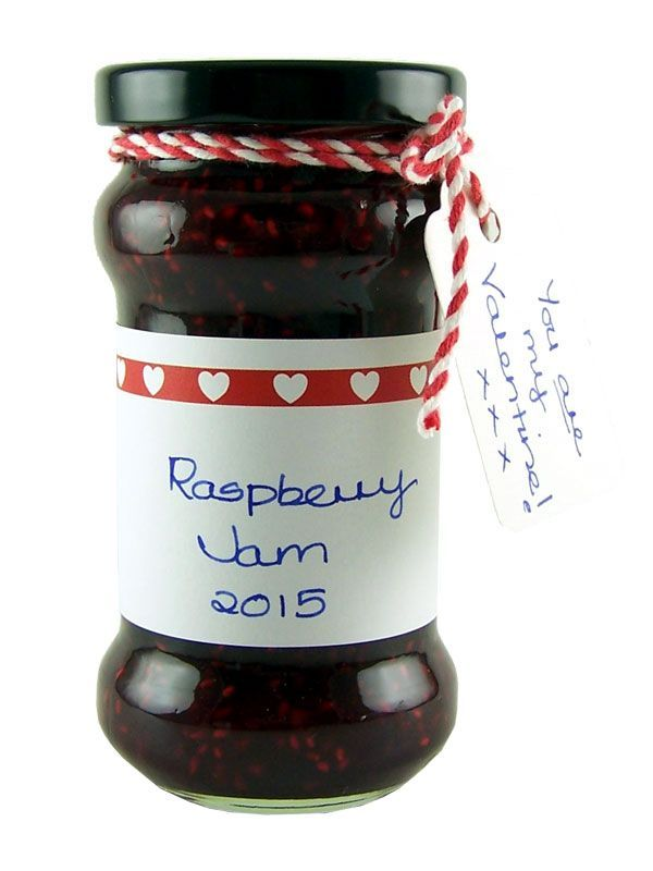 Jar Wraps - Red Heart Strip