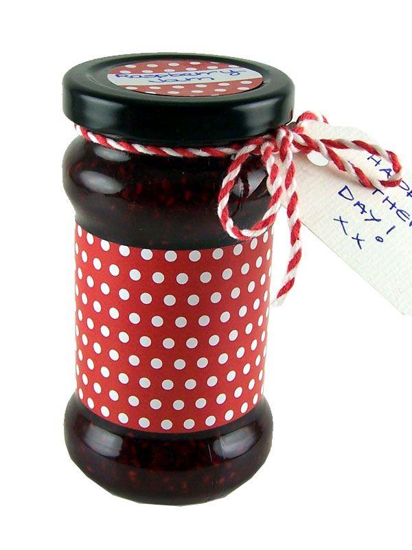 Jar Wraps - Red Spot
