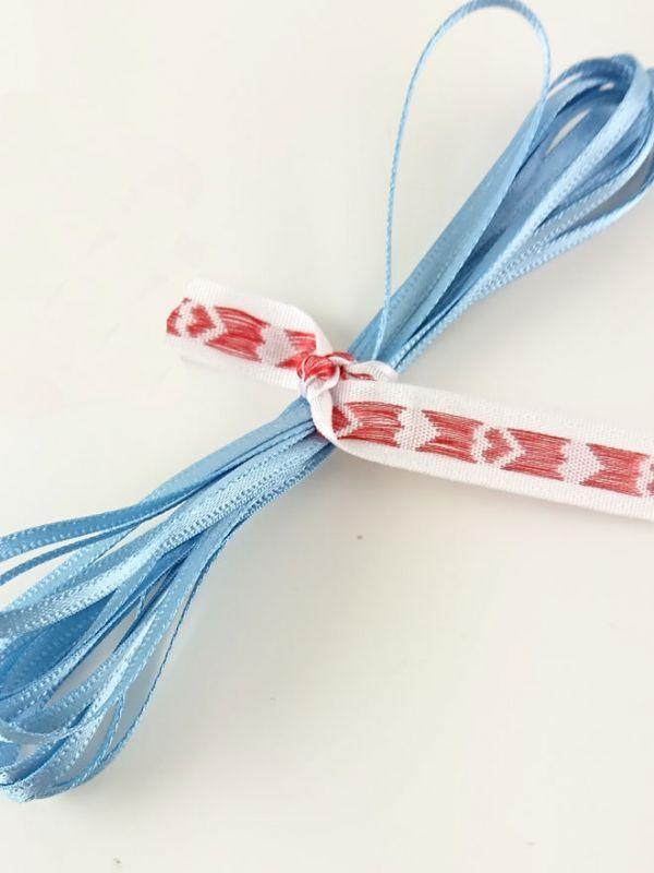 Ribbon Swedish Blue 3mm x 2m