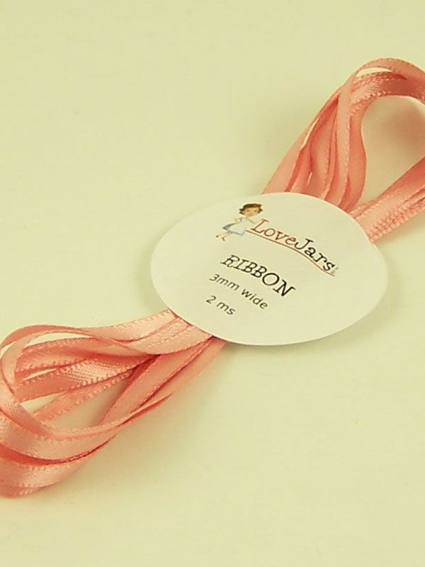 Ribbon Vintage Pink 3mm x 2m