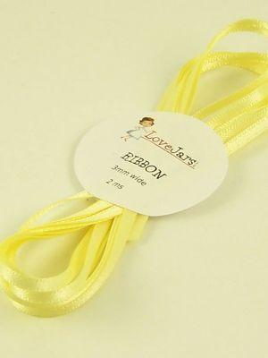 Love jam jars | C Yellow ribbon