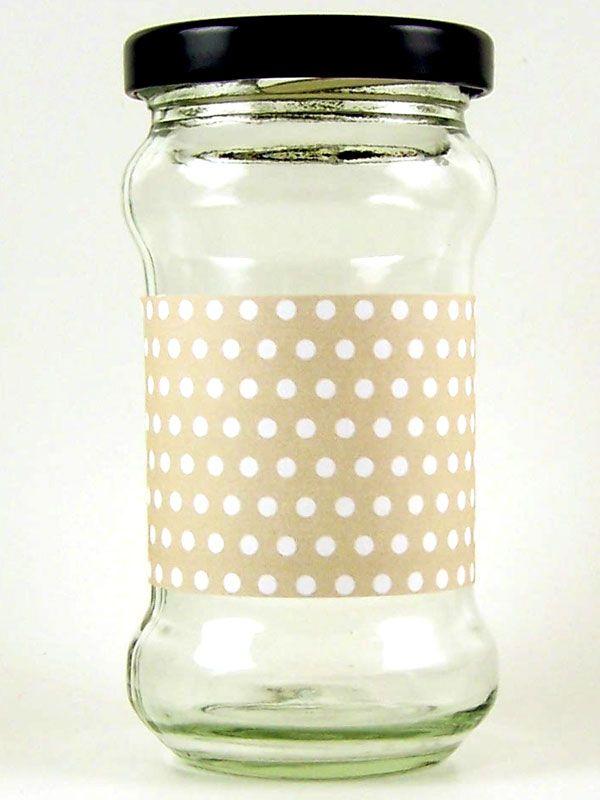 Jar Wraps - Coffee Spot DISC