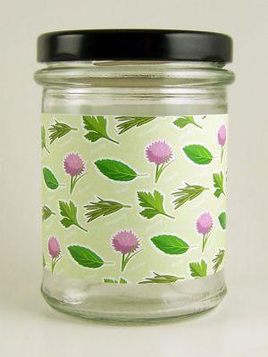 Love jam jars | A Garden Herbs Jar Wraps