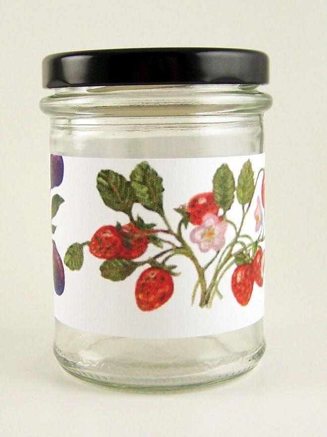 Jar Wraps - Classic Fruits