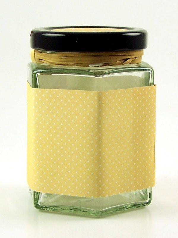 Jar Wraps - Brown Spotty