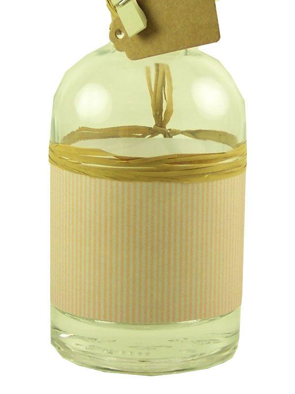 Jar Wraps - Brown Stripes