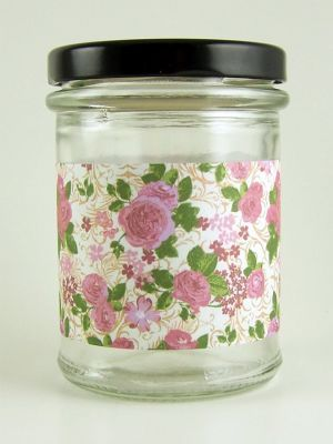Love jam jars | J Roses Large Sprig Jar Wrap