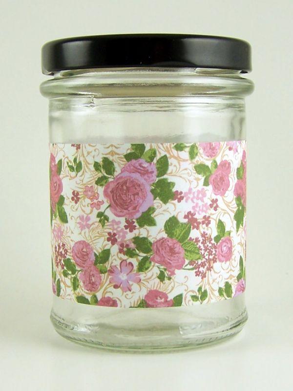 Jar Wraps - Summer Frocks Large Sprig 1