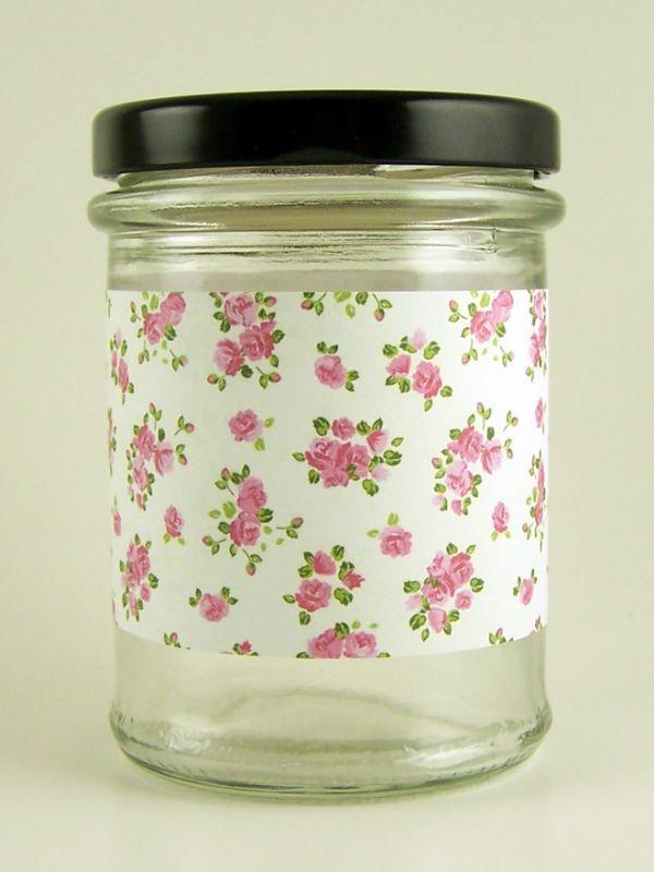 Jar Wraps - Summer Frocks Small Sprig 1