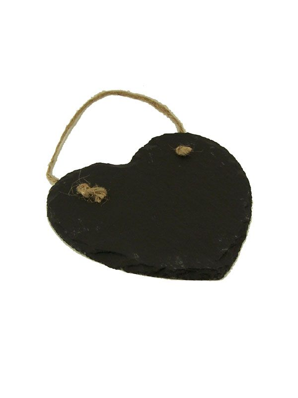 Slate Blackboard Hanging Heart