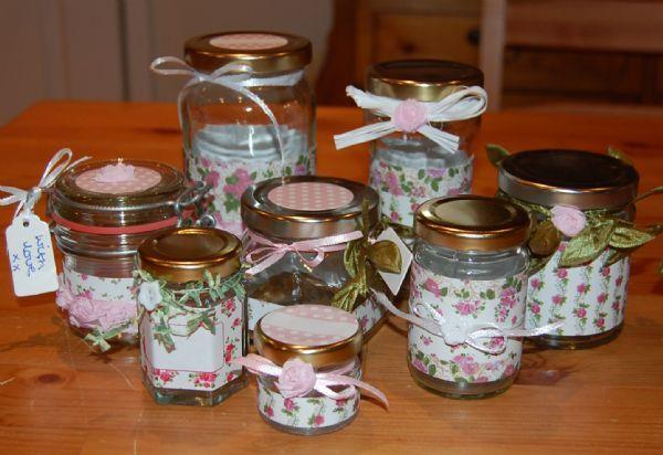 Jar Wraps - Summer Frocks Large Sprig 2
