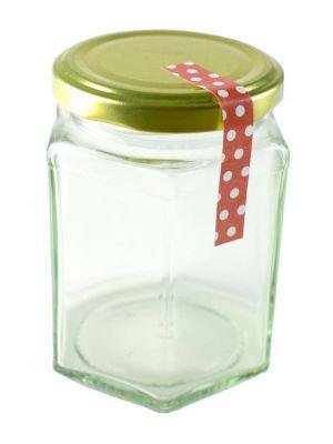 Love jam jars   Tamper Proof Strip 70x10mm x140 Red Spot