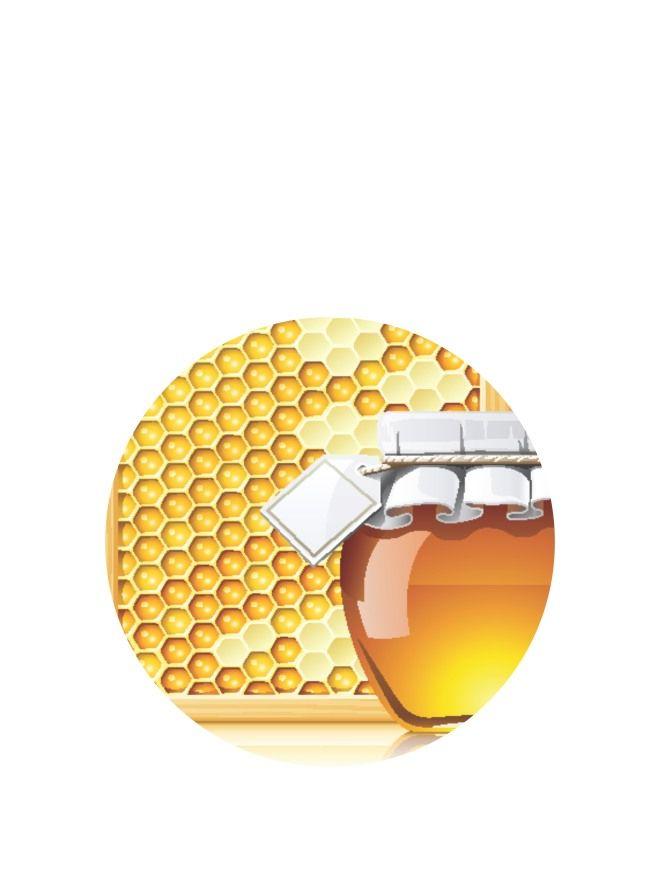 Lid Topper 40mm Honey Bee Jar