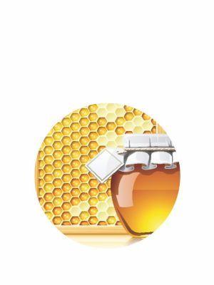 Love jam jars | - Honey Jar topper