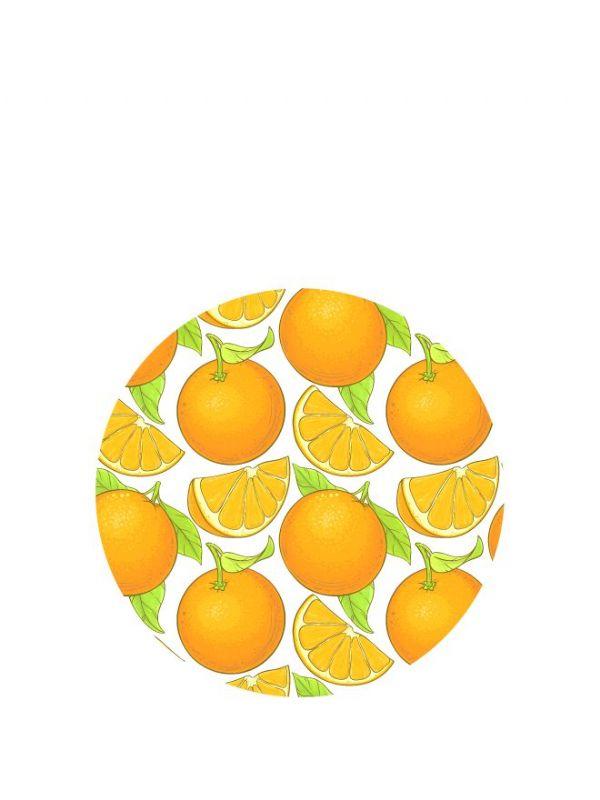 Lid Topper 40mm Marmalade