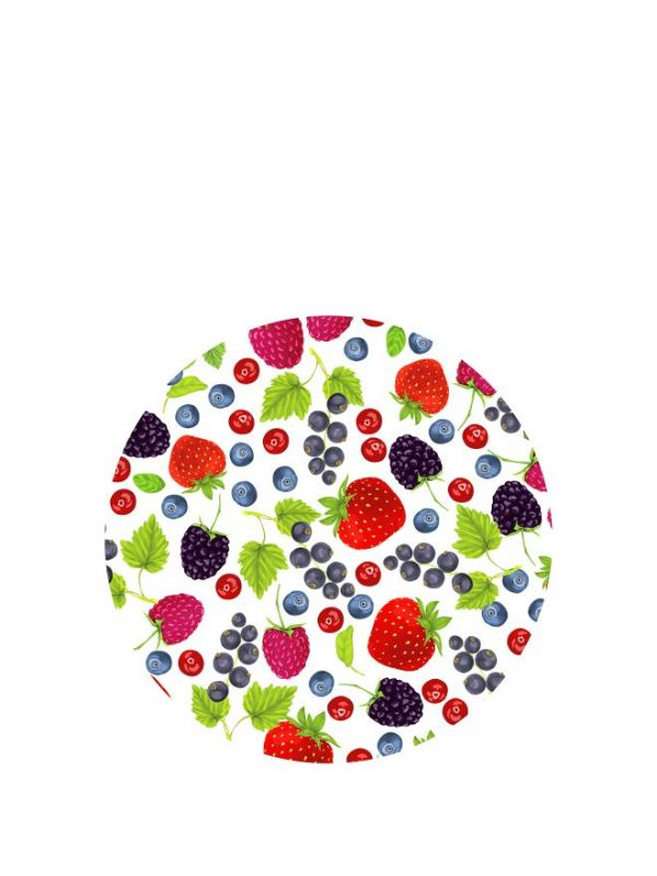 Lid Topper 40mm Mixed Berries