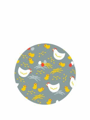 Love jam jars | G Grey hens lid topper