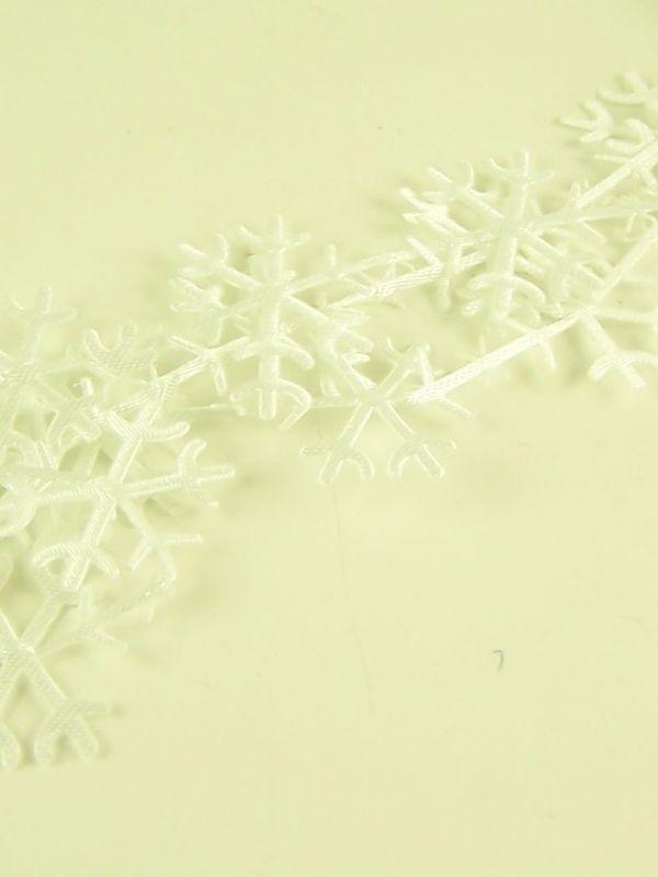 Snowflake Trim 50cm