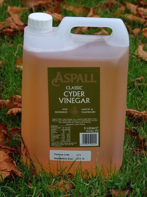 Vinegar: Aspall Cyder 5 litres