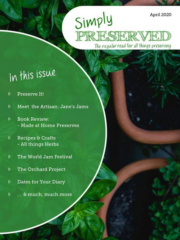 Simply Preserved Magazine - April 2020