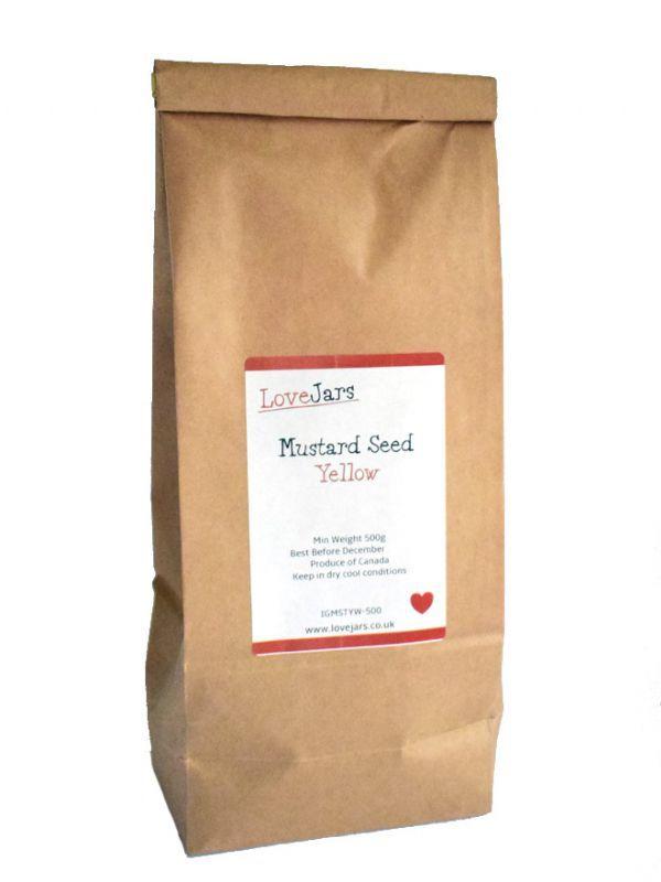 Mustard Seeds Yellow 1000g 2
