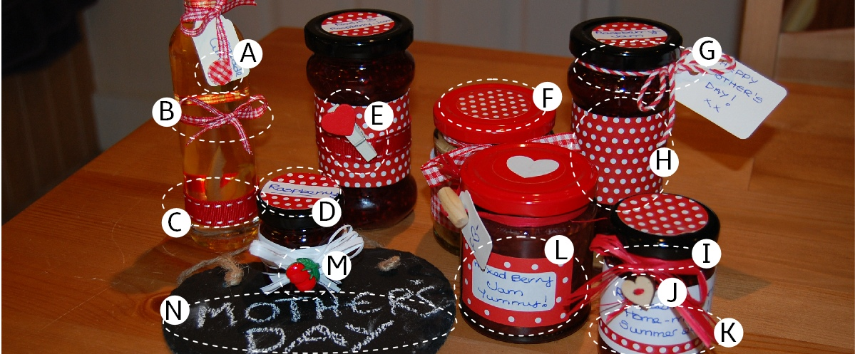 Rosie's Red Spotty Collection