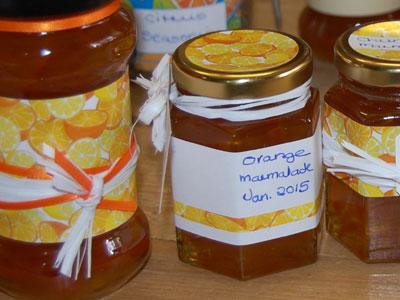 Love jam jars | Orange & Lemon