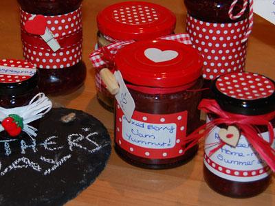 Love jam jars | Red Spotty