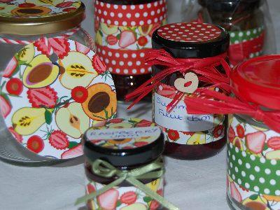 Love jam jars | Summer Fruits