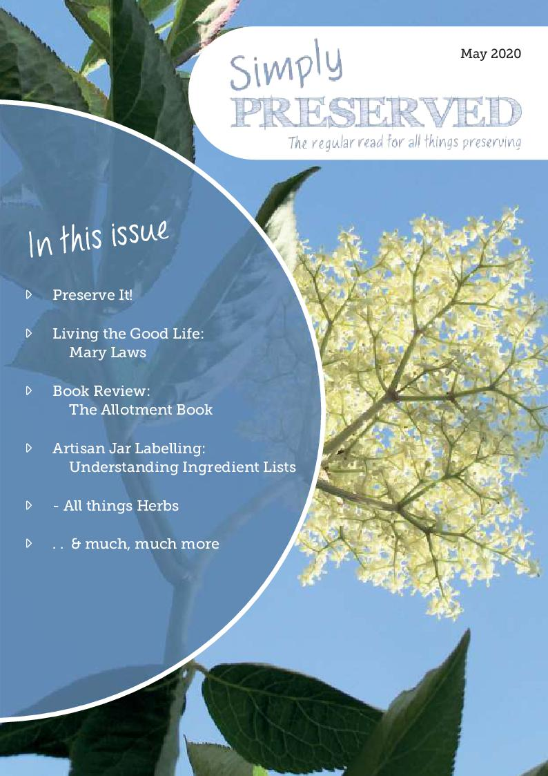 Simply Preserved Magazine for all things preserving : May 2020