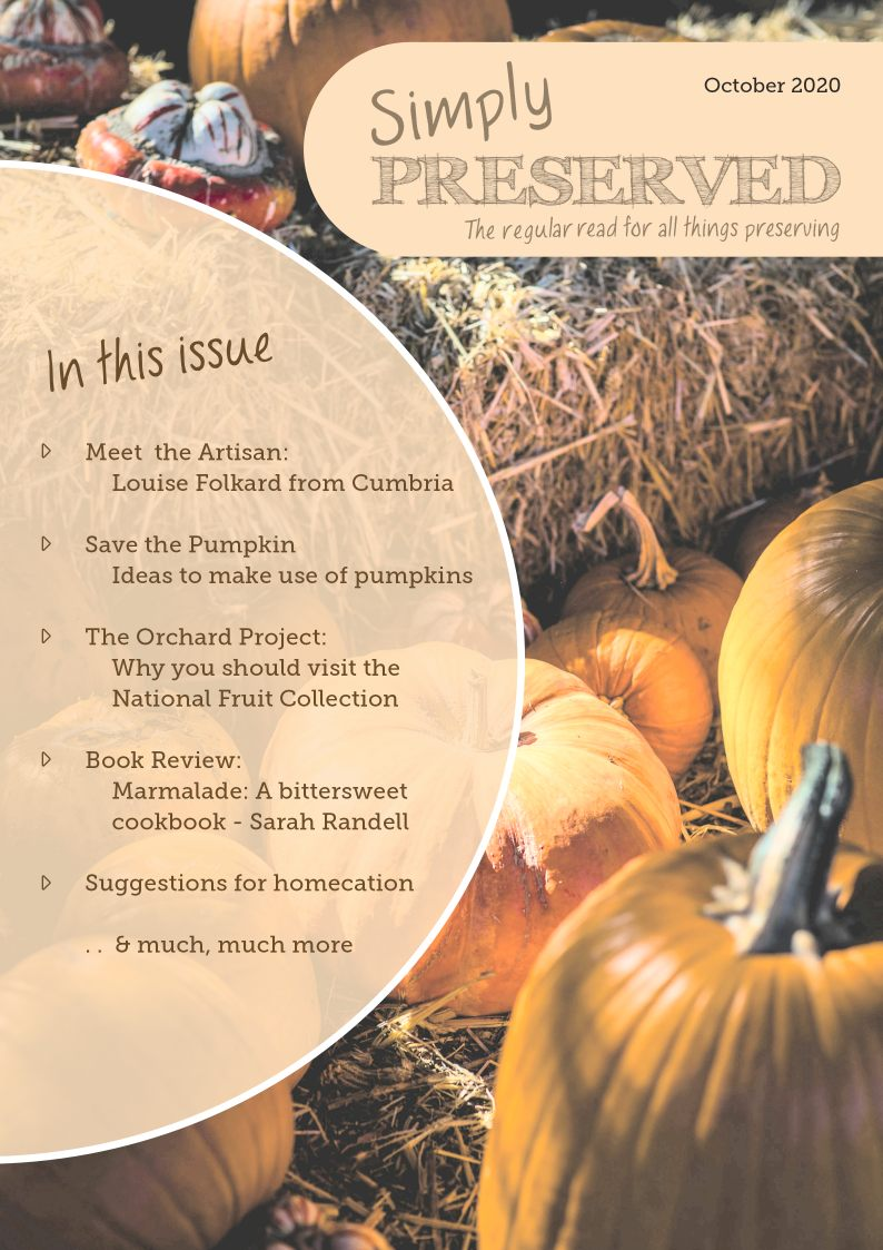 Simply Preserved Magazine for all things preserving : October 2020