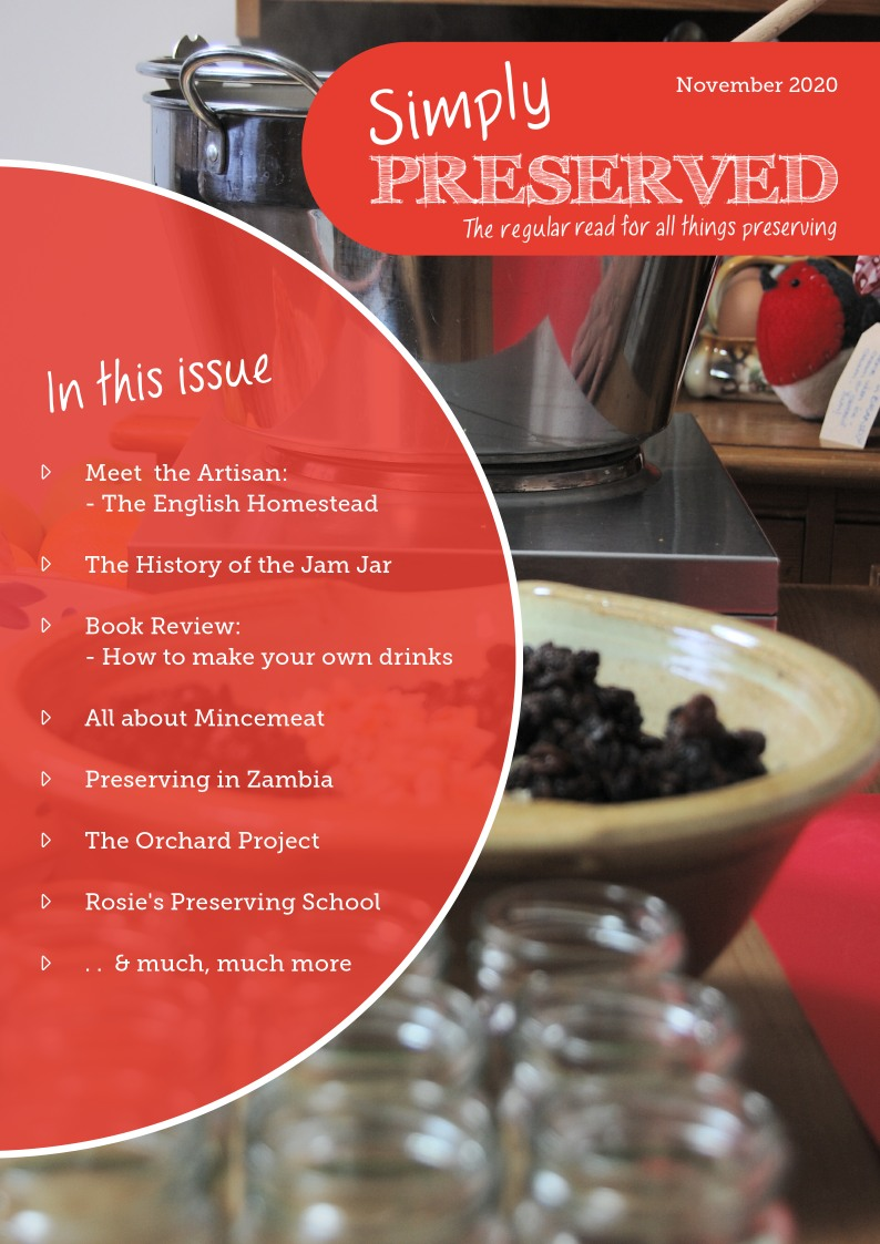 Simply Preserved Magazine for all things preserving : Nov/Dec 2020